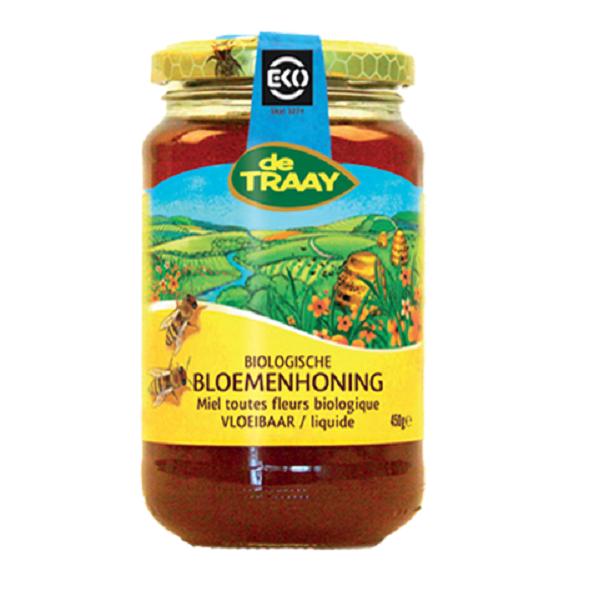 De Traay bloemen honing eko 250 gr