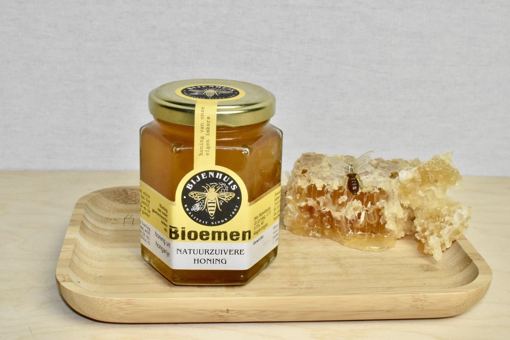 Bloemenhoning 250gr. 100% Nederlands Bijenhuis