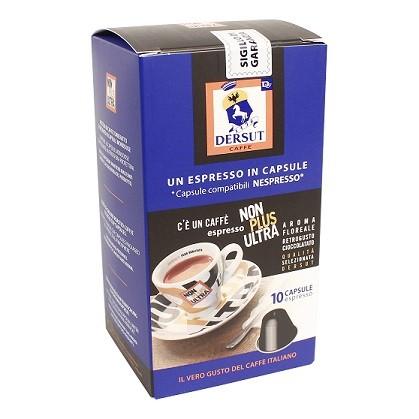 Koffie capsules Nonplus doos 10st. Dersut
