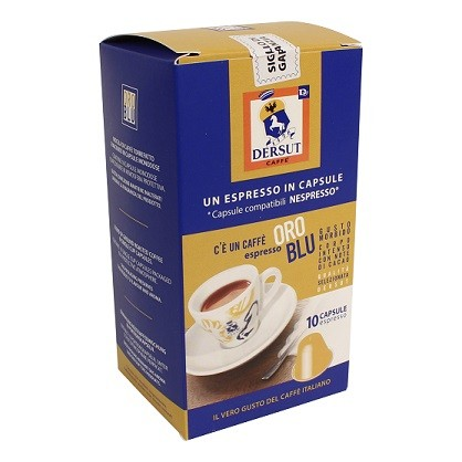 Koffie capsules Oro doos 10st. Dersut
