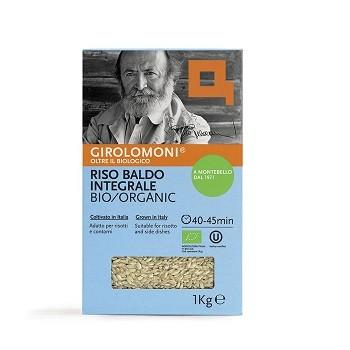 Rijst bruine baldo BIO 1kg. Girolomoni