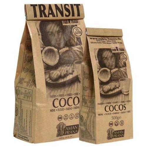 Amanprana kokosmeel/kokosvezels BIO 500 gram