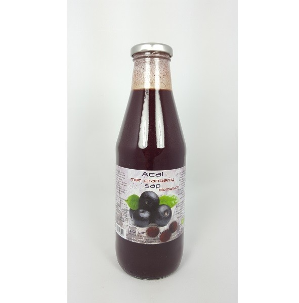 Dutch Cranberry açaisap bio 750 ml