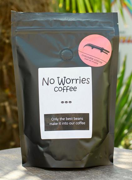 No Worries Crocodile koffie 500 gr