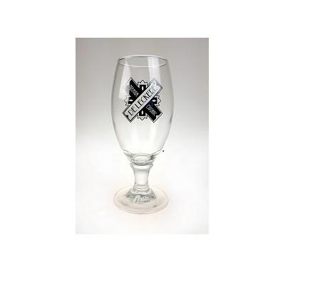 De Leckere bier voetglas 6 x 0.25 liter