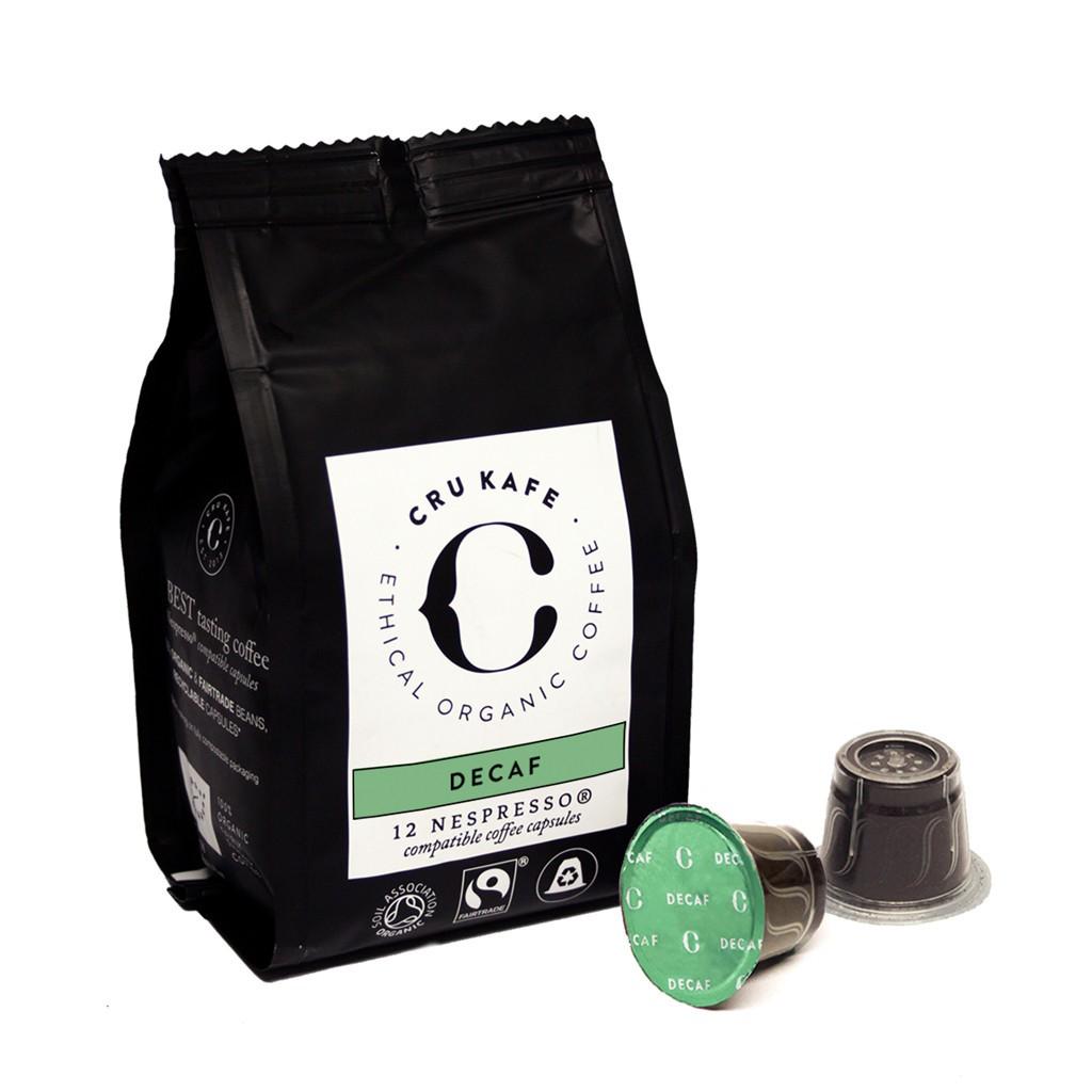 Cru Kafe Decaf Roast koffie zak 12 cups