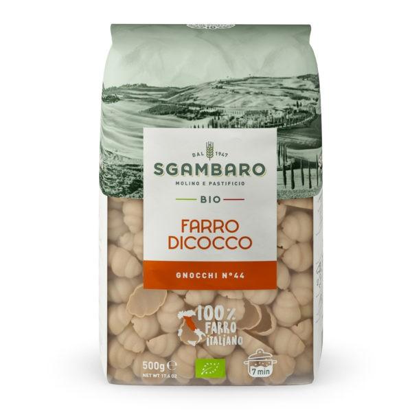 Pasta Gnocchi spelt BIO 500gr. Sgambaro