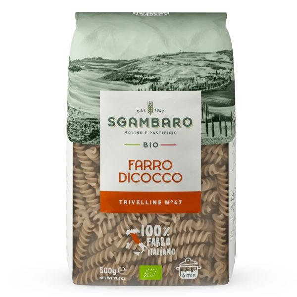 Pasta Trivelline spelt BIO 500gr. Sgambaro