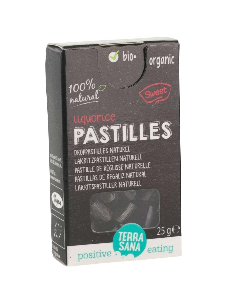 Droppastilles naturel BIO 25gr. Terrasana