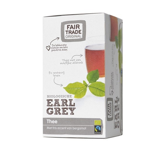 Fairtrade Earl Grey BIO 20 x 1,50 gr