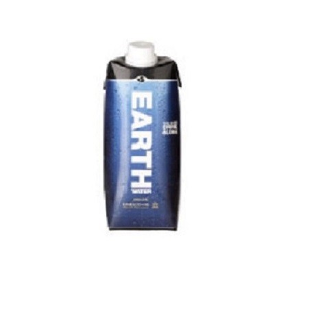 Water plat Tetra Pack 500ml. Earth water