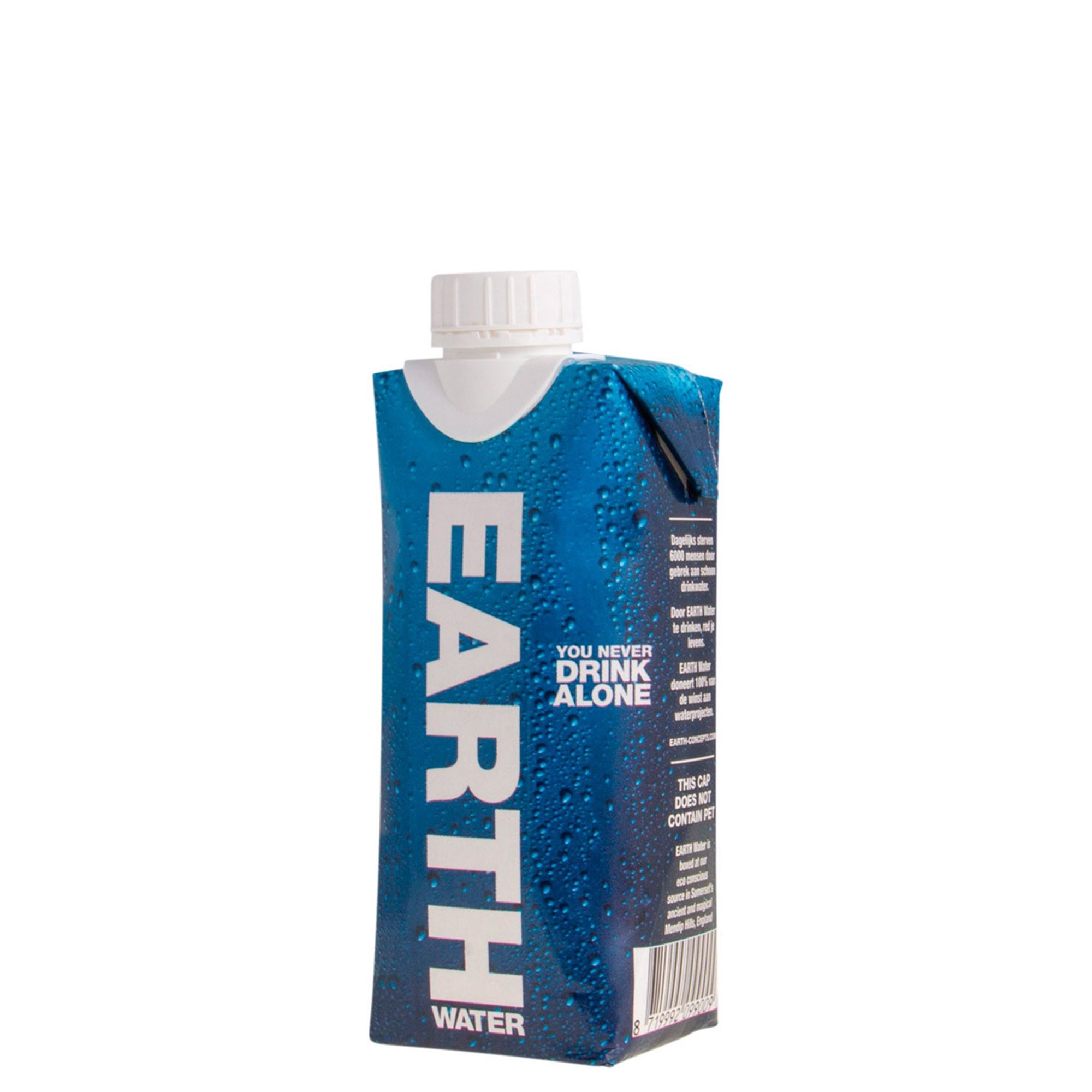 Earth water tetra pack 12st. van 330ml.