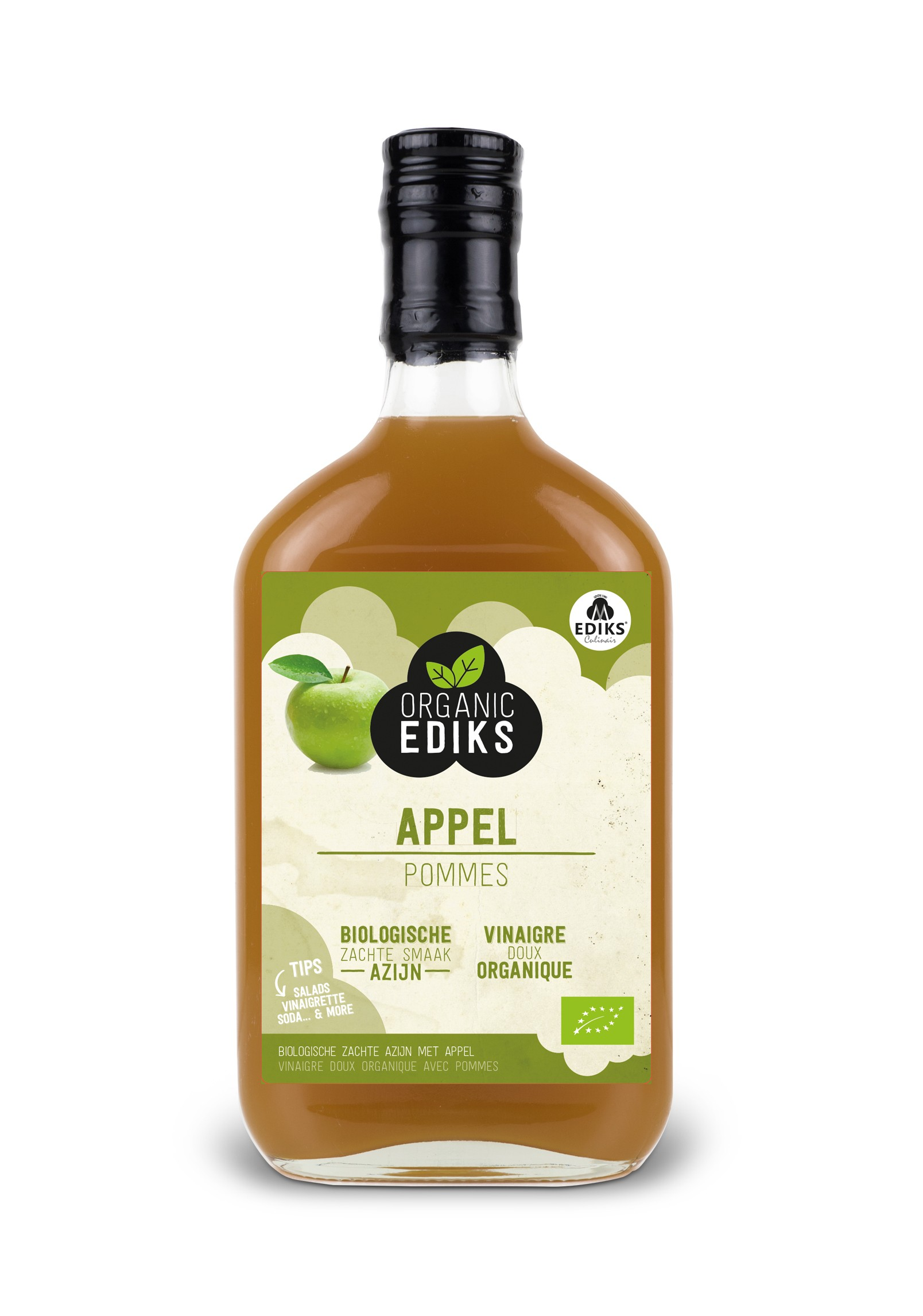 Ediks appel azijn BIO 350 ml