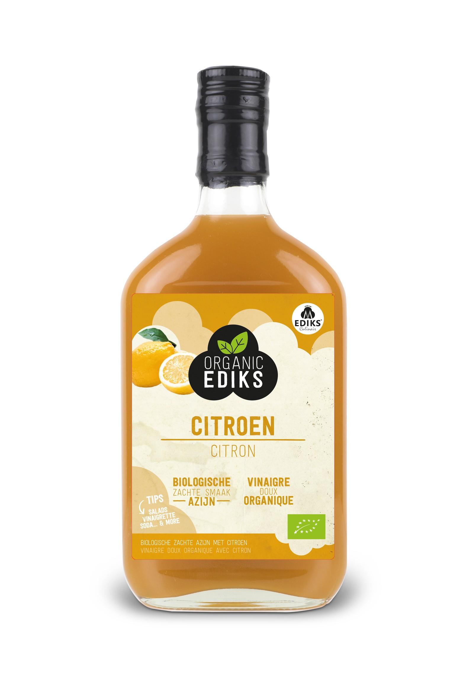 Ediks Citroen azijn BIO 350 ml