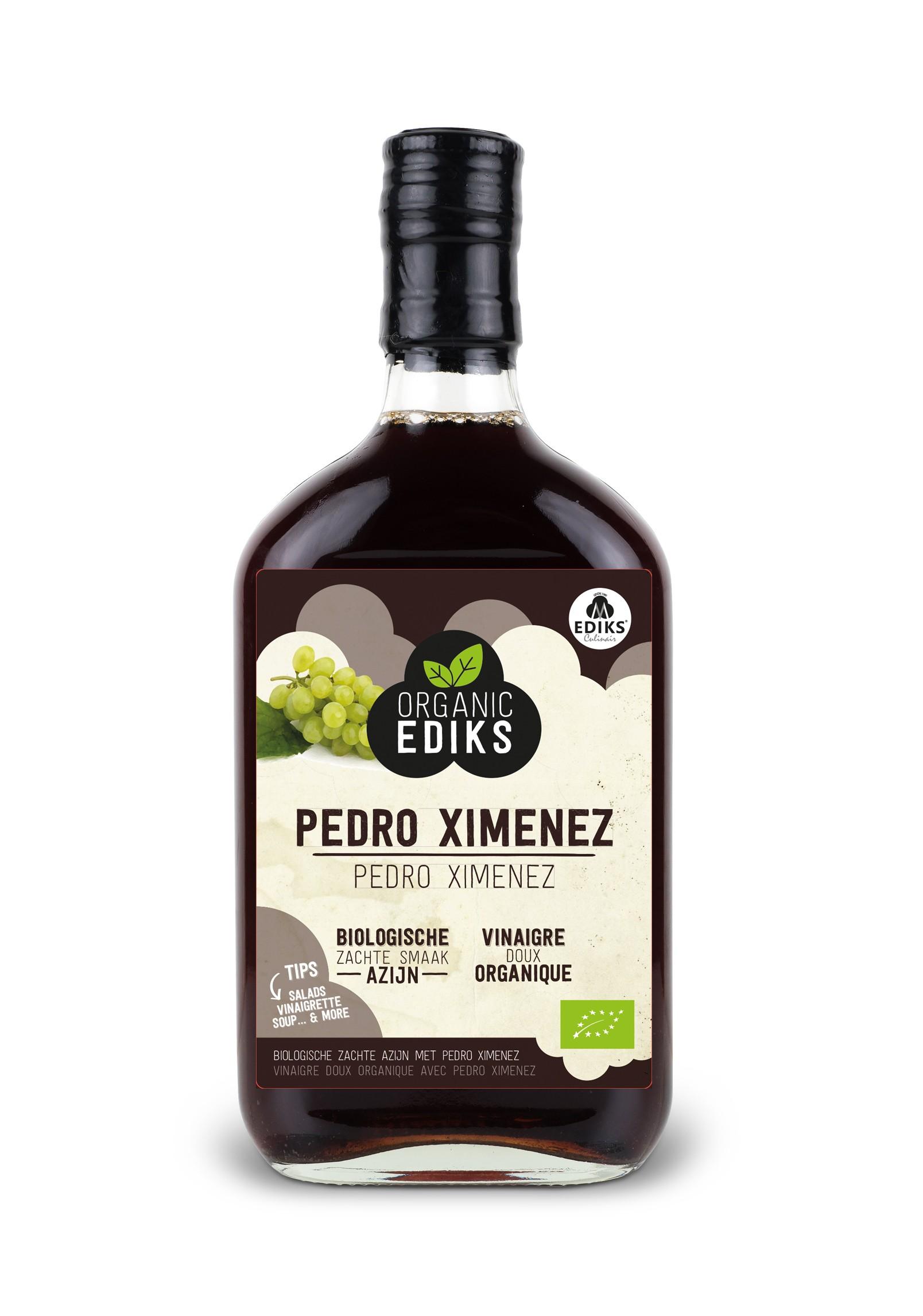 Ediks Pedro Ximenez azijn BIO  350 ml
