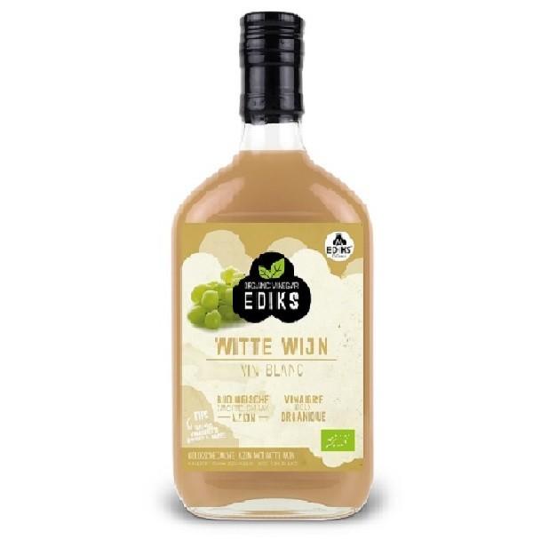 Ediks witte wijn azijn BIO 350 ml