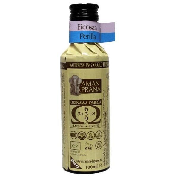 Amanprana Okinawa omega olie Eicosan Perilla BIO 100 ml