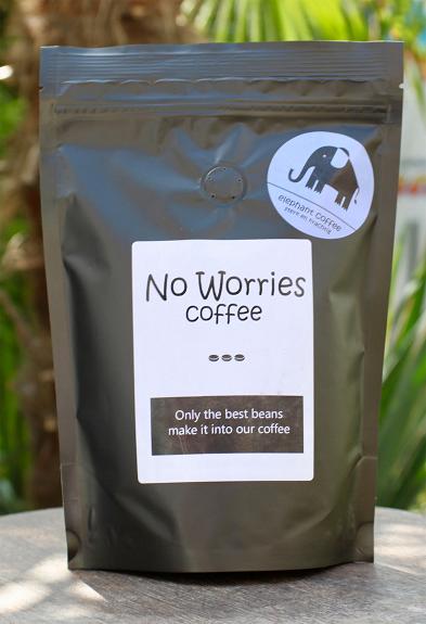 No Worries Elephant koffie 1000 gr