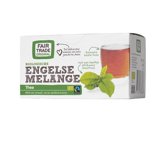 Engelse thee melange 20x1,75gr. Fairtrade
