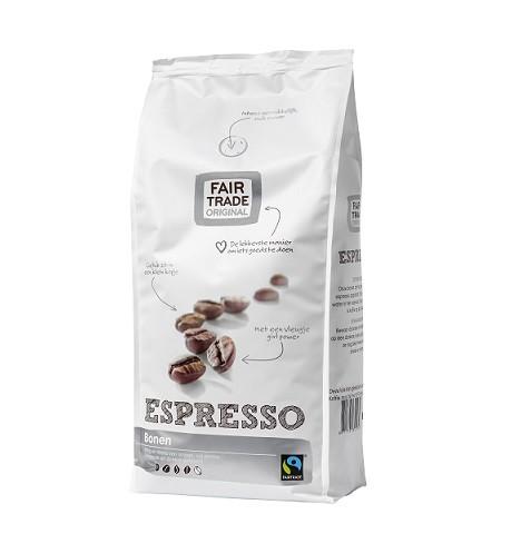 Koffiebonen espresso 500gr. Fairtrade
