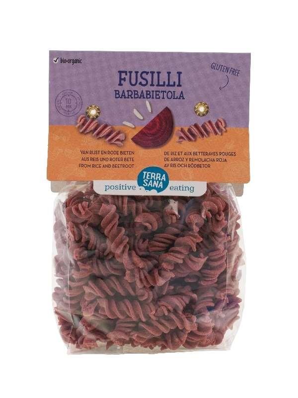 Pasta Fusilli Barbabietola 250gr. TerraSana