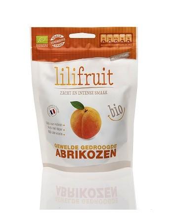 Abrikozen geweld en gedroogd BIO 150gr. Lilifruit