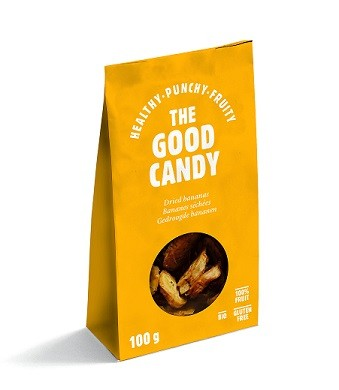 Banaan gedroogd BIO 100gr. The Good Candy