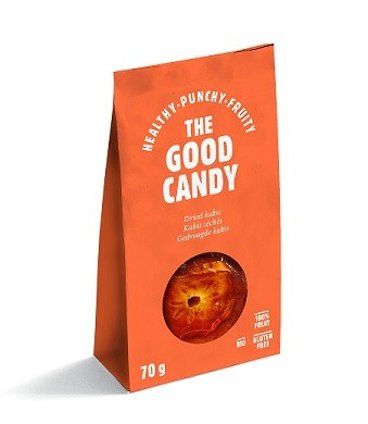 The Good Candy Biologische gedroogde Kaki 70 gr