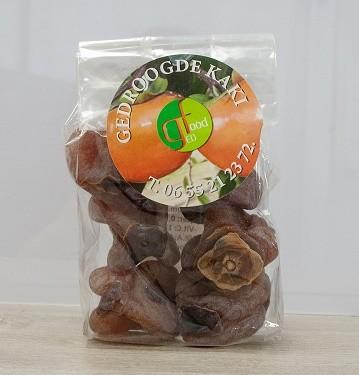 Kaki fruit lang gedroogd 250gr. Geofood