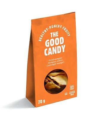 The Good Candy Biologische gedroogde Mango 70 gr