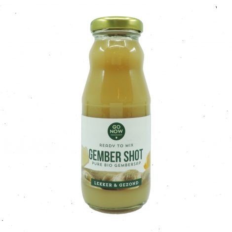 Shot gember ready to mix BIO 200ml. Go Now