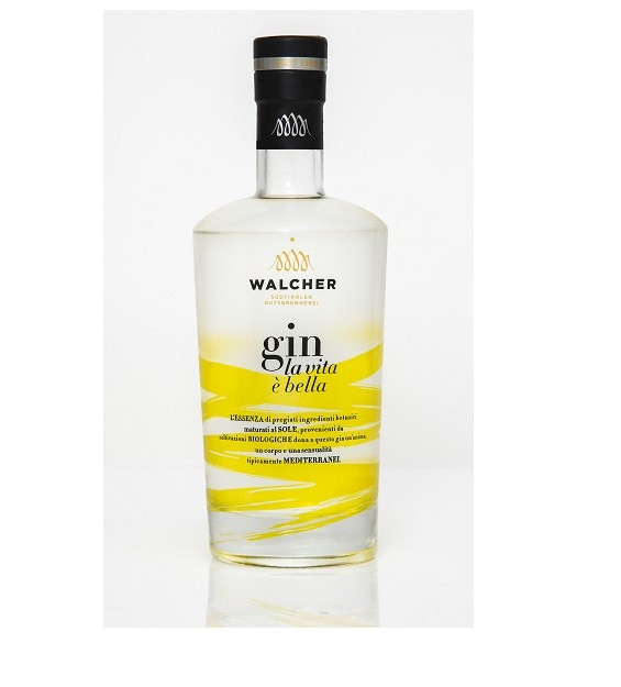 Walcher gin 'la vita è bella' bio 700 ml