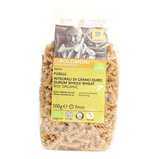 Girolomoni pasta fusilli volkoren BIO 500 gr