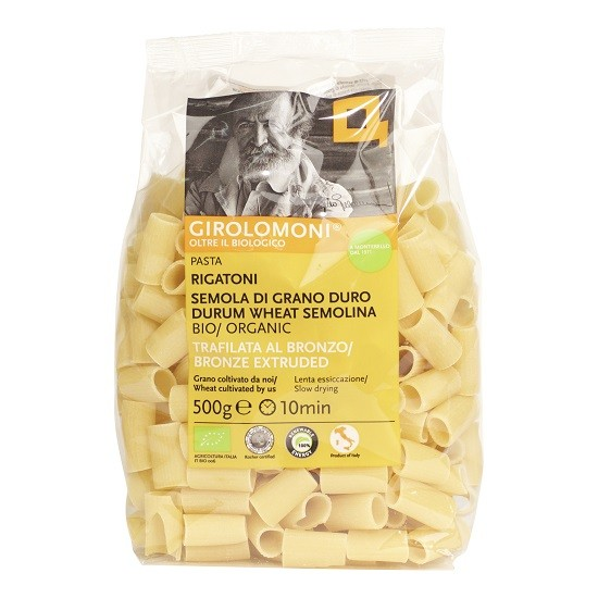 Girolomoni pasta rigatoni BIO 500 gr