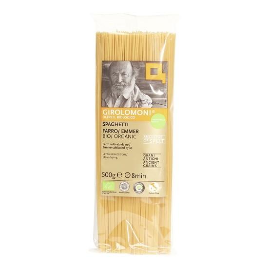 Girolomoni pasta spaghetti spelt (farro Emmer)BIO 500 gr