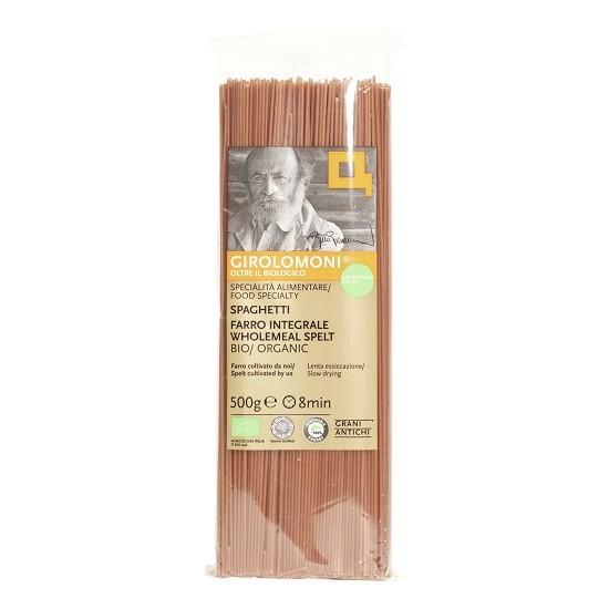 Pasta spaghetti spelt volkoren (farro Integrale) BIO 500gr. Girolomoni