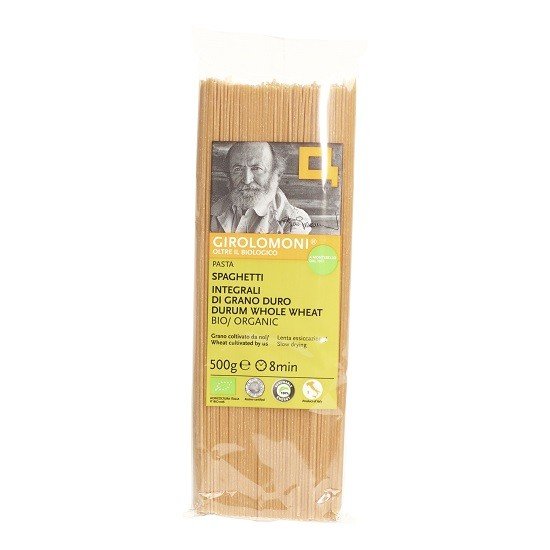 Girolomoni pasta spaghetti volkoren (integrali) BIO 500 gr