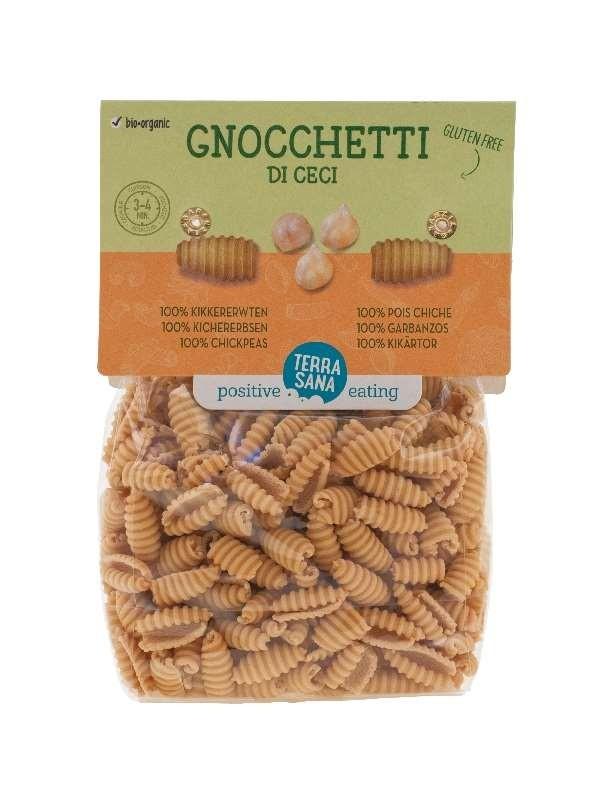 TerraSana Gnocchetti di Ceci  250 gr - 100% kikkererwten, glutenvrij