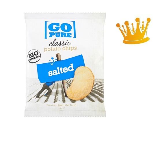 Go Pure naturel BIO chips 40 gram