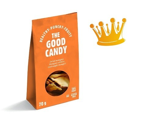 The Good Candy Biologische gedroogde Mango 70 gr