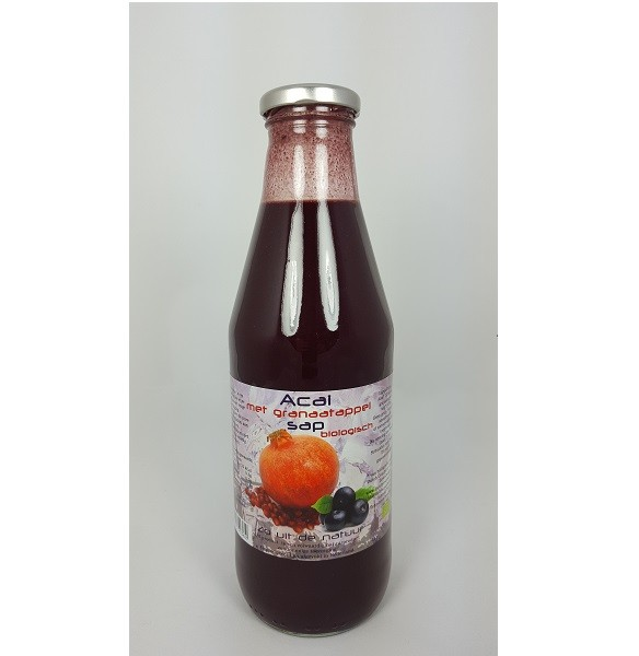 Dutch Cranberry Granaatappel-açaisap bio 750 ml