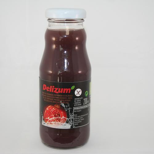 Delizum Granaatappelsap BIO 200 ml