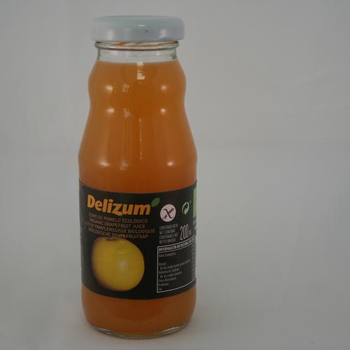 Delizum Grapefruitsap BIO 200 ml