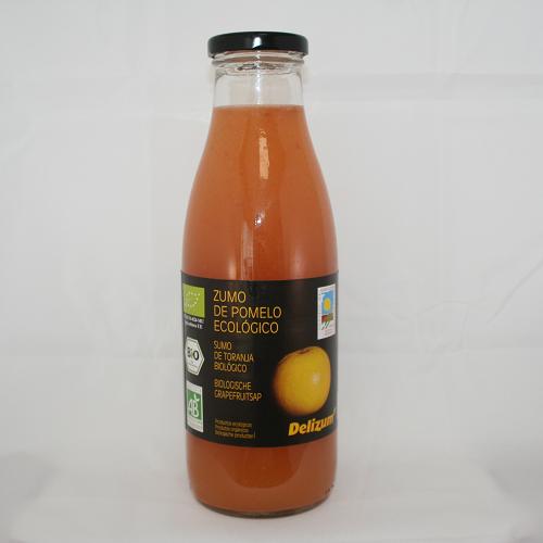 Grapefruitsap BIO 750ml. Delizum