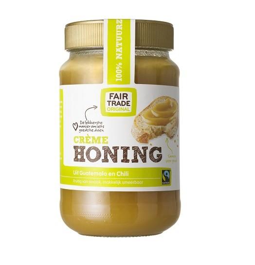 Fairtrade tropische honing crème 450 gram