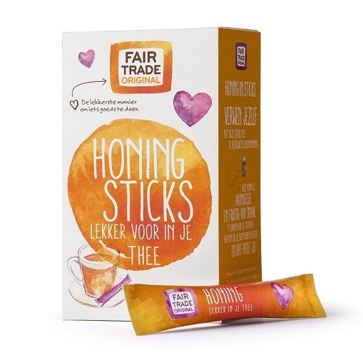Fairtrade honing in sticks 14 x 8 gram