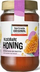 Honing tropische vloeibaar 450gr. Fairtrade