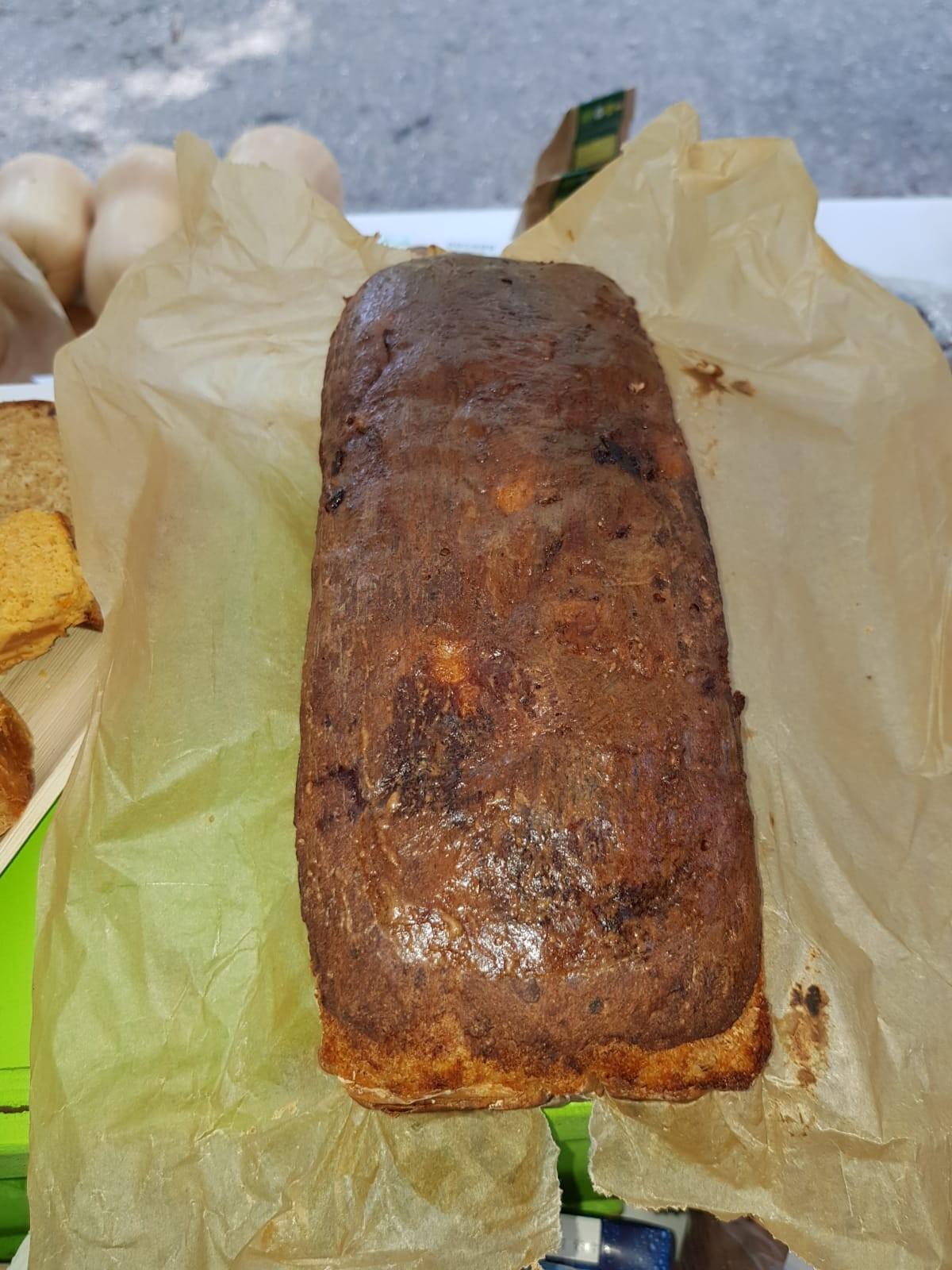 Pompoenbrood Traditioneel Zoet met vijgen of dadels Handgemaakt ca.1000 gr. GezondvanVeldenBos