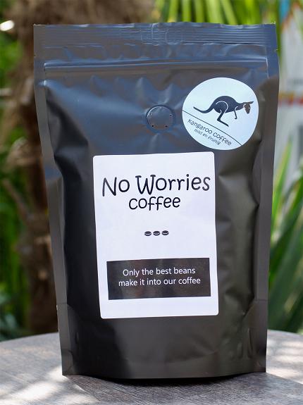 No Worries Kangaroo koffie 1000 gr
