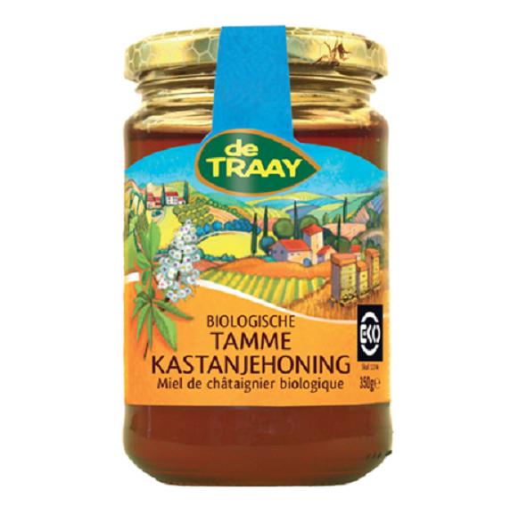 De Traay kastanje honing eko 350 gr